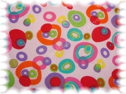 Kringelstoff-rosa-Baumwolle-Popeline-Stoff-Stoffe-Meterware-naehen-50-cm