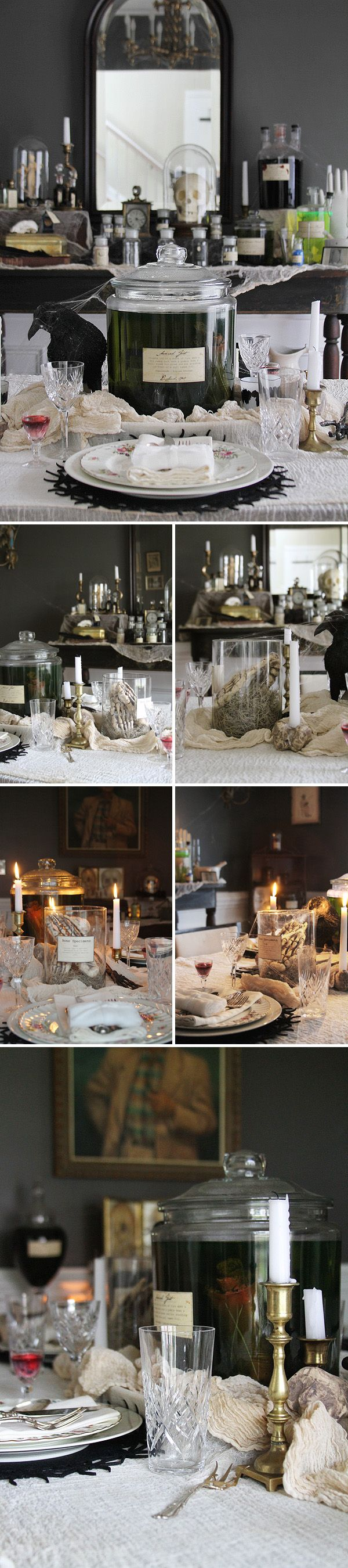 13 Spooky Halloween Table Settings