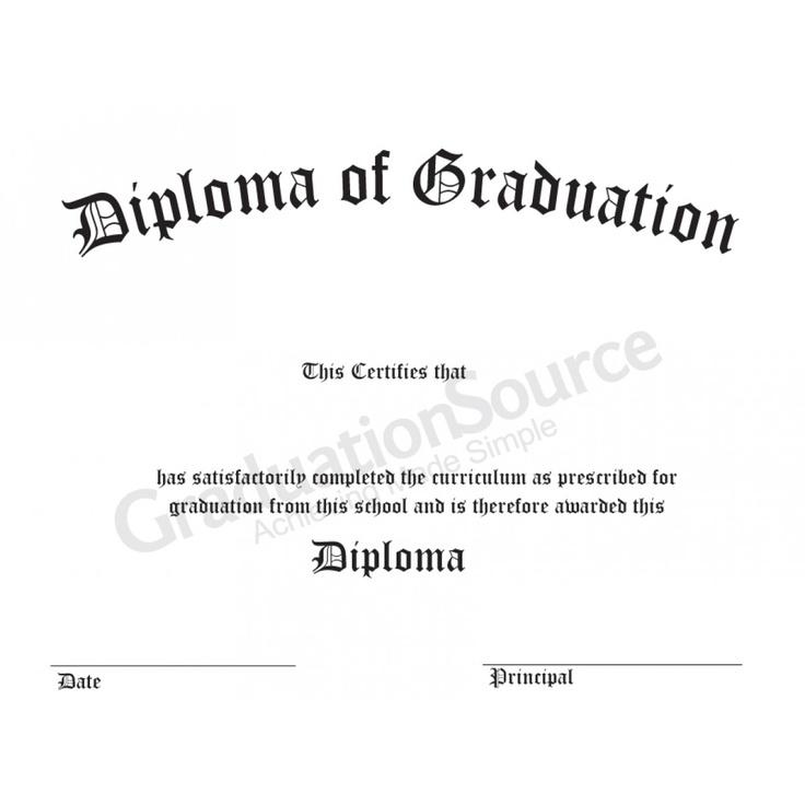 100 best pre k \ k certificates and graduation images on Pinterest - graduation certificate wording