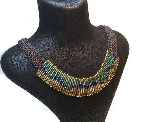 Saxe Blue-Green-Gold Yellow-Christmas Gift-Colorful by FIGENTAKI
