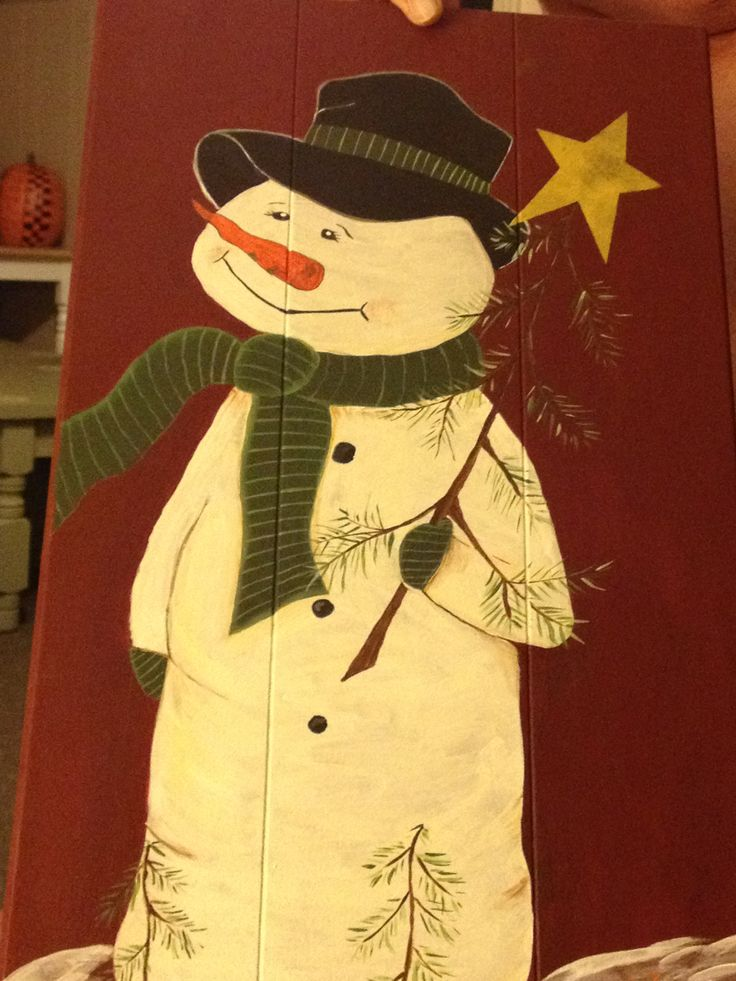 Repurposed Cabinet Door Christmas Crafting Inspiration