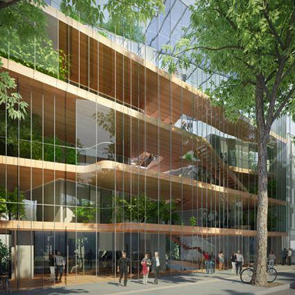 241 migliori immagini architecture residenze e varie su - Casa passiva milano ...