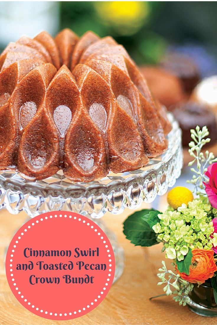 Bundt cake pans for sale - 70th Anniversary Cinnamon Swirl And Toasted Pecan Bundt