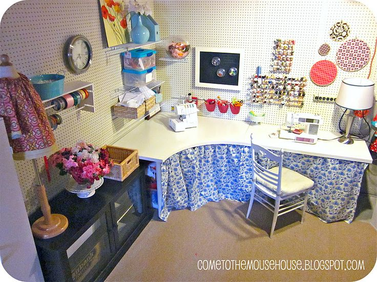 Welcome to the Mouse House: Basement Craft Room: The Details and Questions Answered