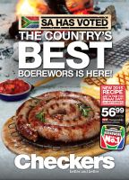 A Luxury Staycation with The Best Boerewors in South Africa