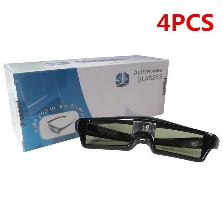 Top Deals Gonbes KX60 Bluetooth 3D Active Shutter Stereoscopic Glasses For TV Projector Epson / Samsung / SONY / SHARP Bluet