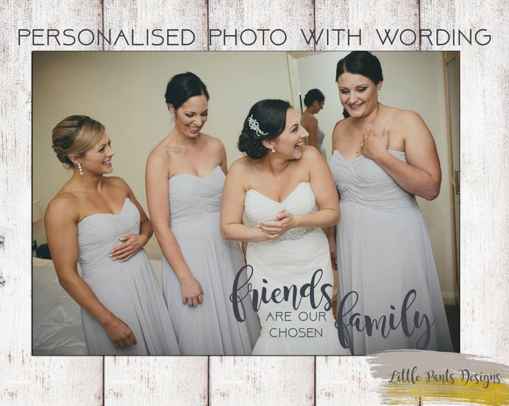 """Personalised Photo with NAME WORDS """"Friends are our chosen family"""" Picture greeting Card / Print Digital file by LittlePantsDesigns on Etsy https://www.etsy.com/listing/463054197/personalised-photo-with-name-words"""