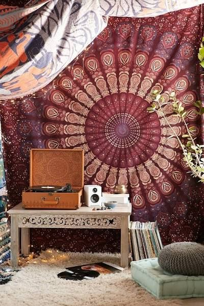 maroon tapestry - Google Search