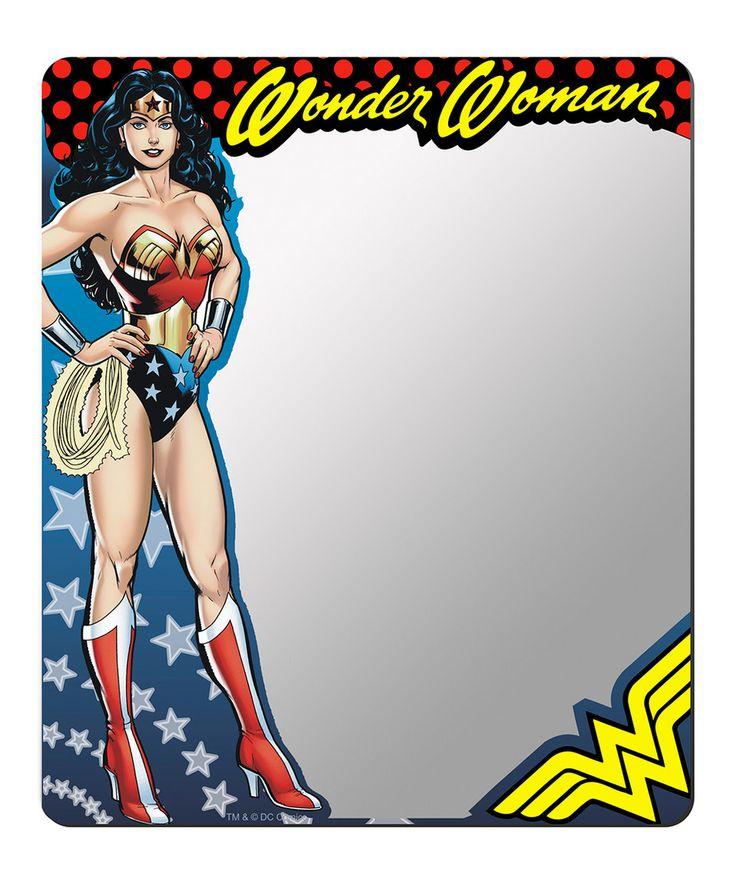 Look at this #zulilyfind! Wonder Woman Locker Mirror by DC COMICS #zulilyfinds