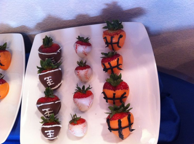 Sports-Dipped Strawberries Recipes — Dishmaps