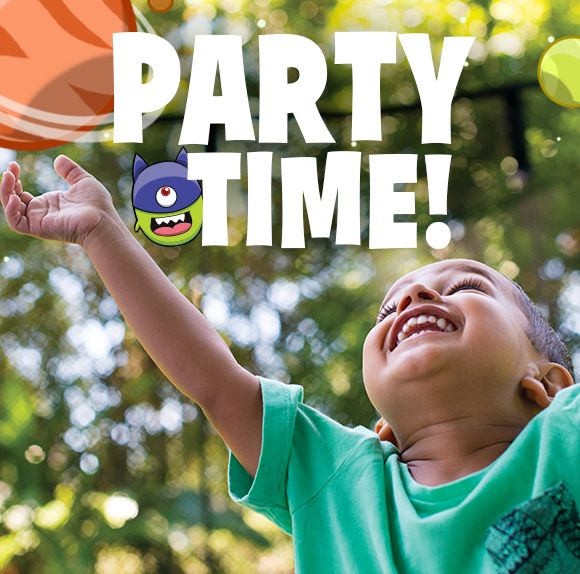 Do you have a bunch of kids coming over for a summery backyard party? How about a play date? Have an Alien Stomp party to keep them outside and active! Learn how --> http://springfr.ee/2axp38y