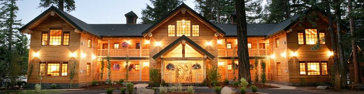 Suttle Lake Lodge....It really is this beautiful. Just about 5 Miles east of Black Butte