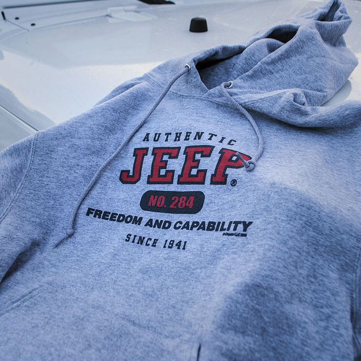 """The popular Authentic Sweatshirt. Features the text """"Freedom and Capability Since 1941"""". 50/50 blend. Preshrunk."""