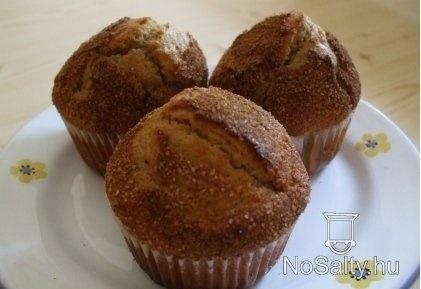 Bögrés fahéjas muffin