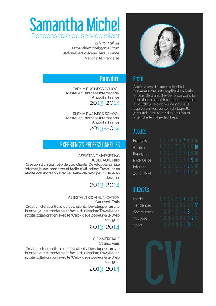 design de site cv
