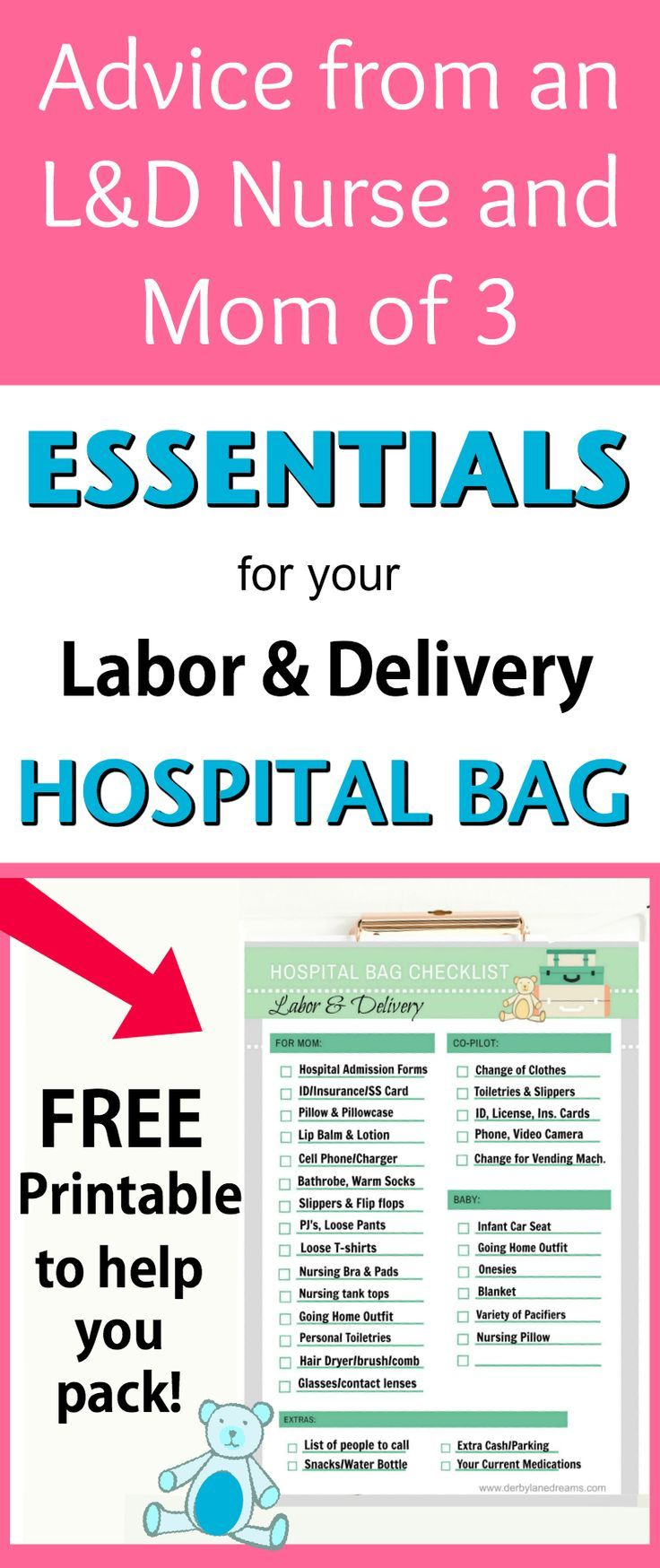Essentials To Pack For Your Labor And Delivery Hospital Bag