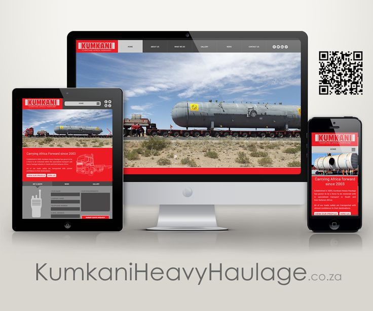 Check out the brand new website we designed for Kumkani Heavy Haulage http://www.kumkaniheavyhaulage.co.za