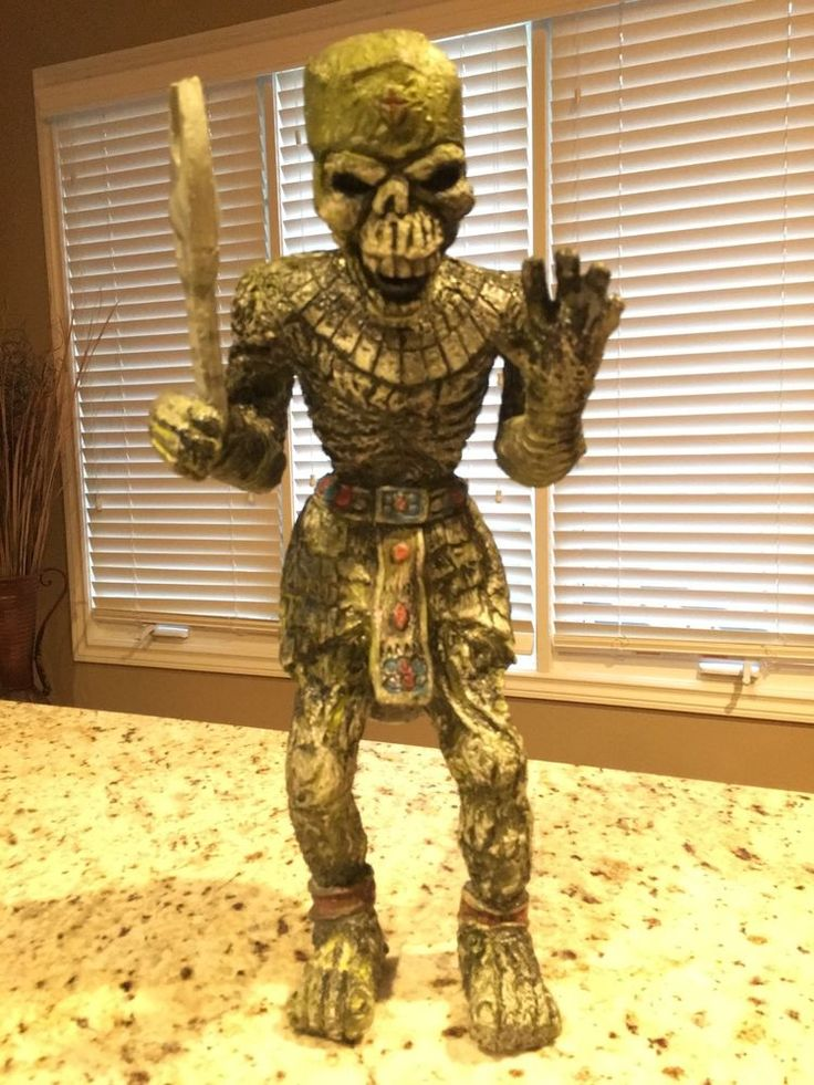 THE MUMMY 2: THE MUMMY RETURNS IMHOTEP UNDEAD ARMY SOLDIER STUFFED ACTION FIGURE #UniversalStudios