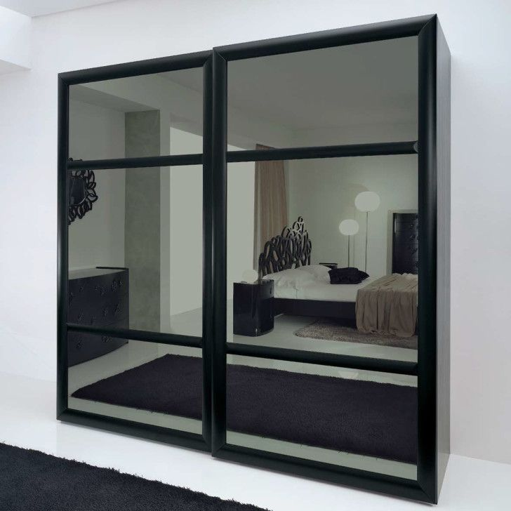 1000+ Ideas About Mirrored Sliding Closet Doors On