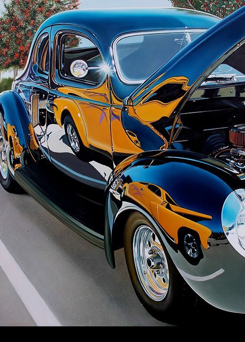 11 best cheryl kelley car art images on pinterest for Car painting school