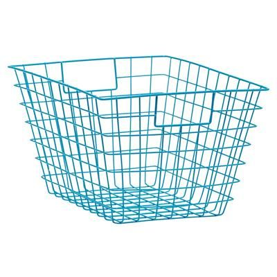 Wire Storage Basket - Aqua from Kmart $9 - just bought this :)