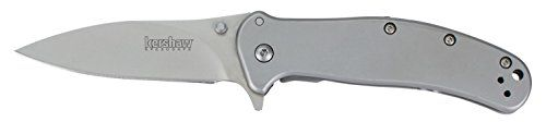 Kershaw 1730SS Stainless Steel Zing Knife with SpeedSafe. For product & price info go to:  https://all4hiking.com/products/kershaw-1730ss-stainless-steel-zing-knife-with-speedsafe/