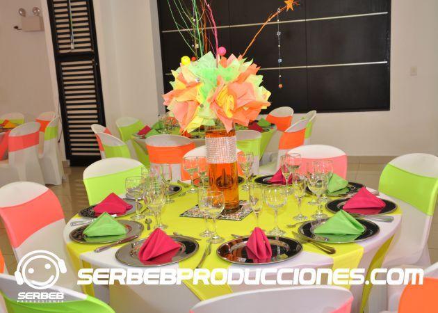 Top 25 ideas about 15 a os tem tica neon on pinterest - Decoracion en cebra ...
