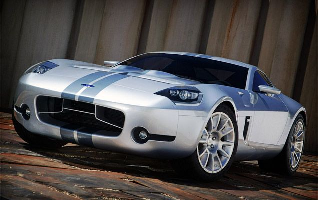 Ford Shelby GR-1 Concept  Throwback to one of the most amazing cars ever: The GT-40