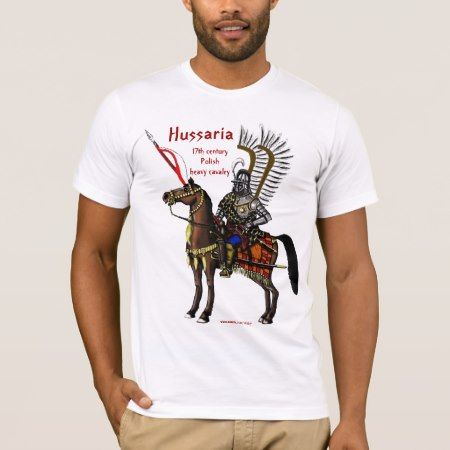 Polish hussar cool t-shirt design - click/tap to personalize and buy