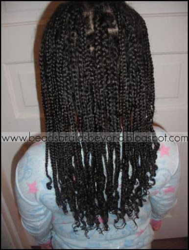 BEADS BRAIDS & BEYOND : BRAIDED BOX BRAIDS / LITTLE GIRLS ...