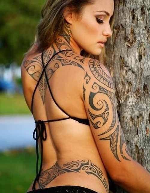9 Best Tribal Tattoo Designs : Hawaiian Tribal Tattoos: