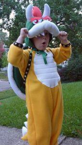 King Koopa costume, head. pt 3