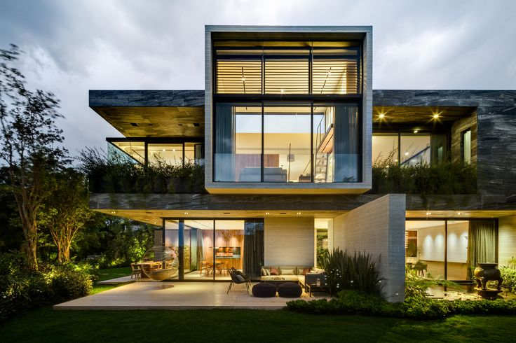 Dwell - Casa O Cuatro  ~ Great pin! For Oahu architectural design visit http://ownerbuiltdesign.com