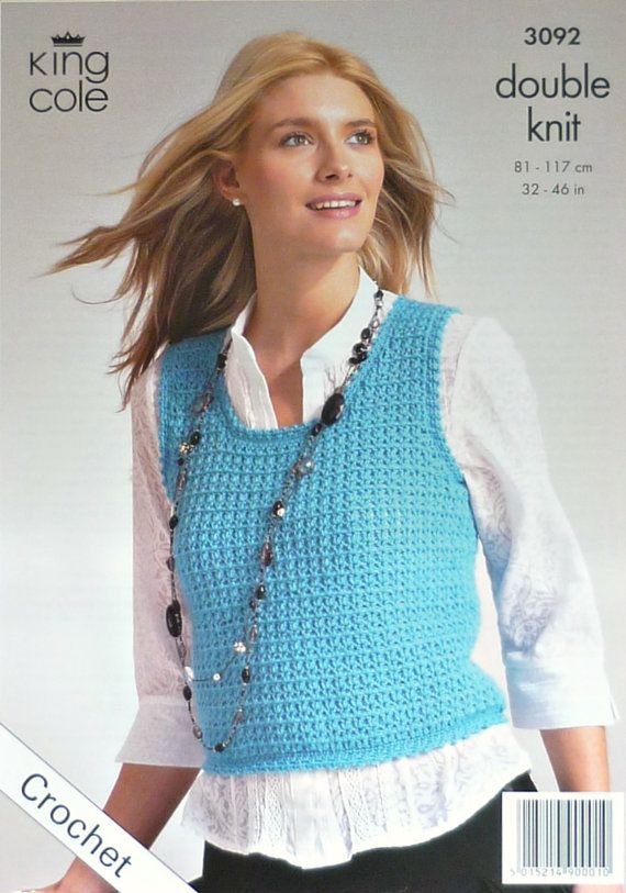 72 Best Vests Knitting And Crochet Patterns Images On Pinterest