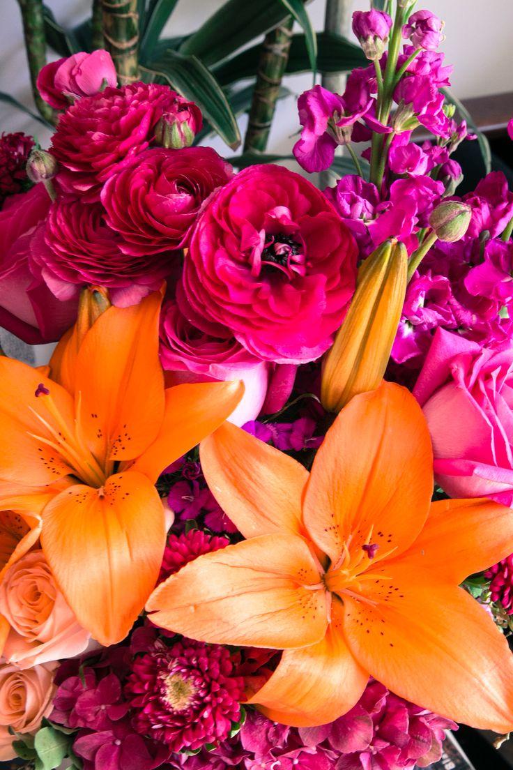 Fuchsia Fantasy <3 via @teleflora and @justinablakeney