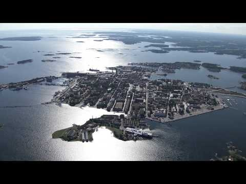 Enjoy a flight over beautiful Karlskrona. In the middle of Swedens southernmost archipelago.  Photo: HeliAir Sweden/VisitKarlskrona