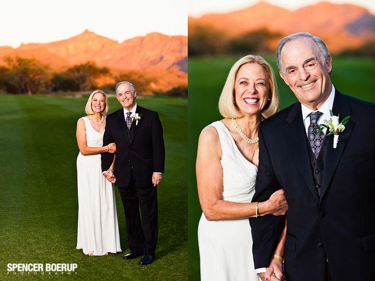 POSES - older couples ilene + vic // lodge at ventana canyon wedding | Spencer Boerup Photography // BLOG