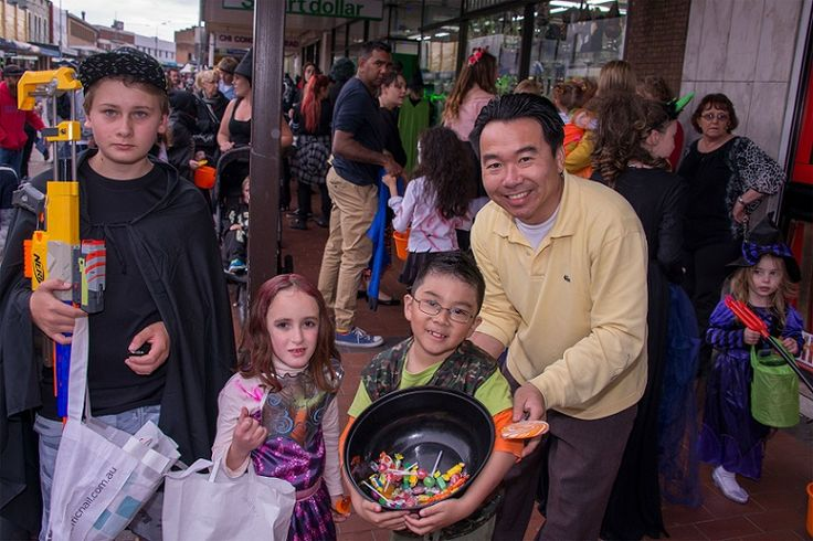 Trick or Treat, Lithgow Halloween 2015