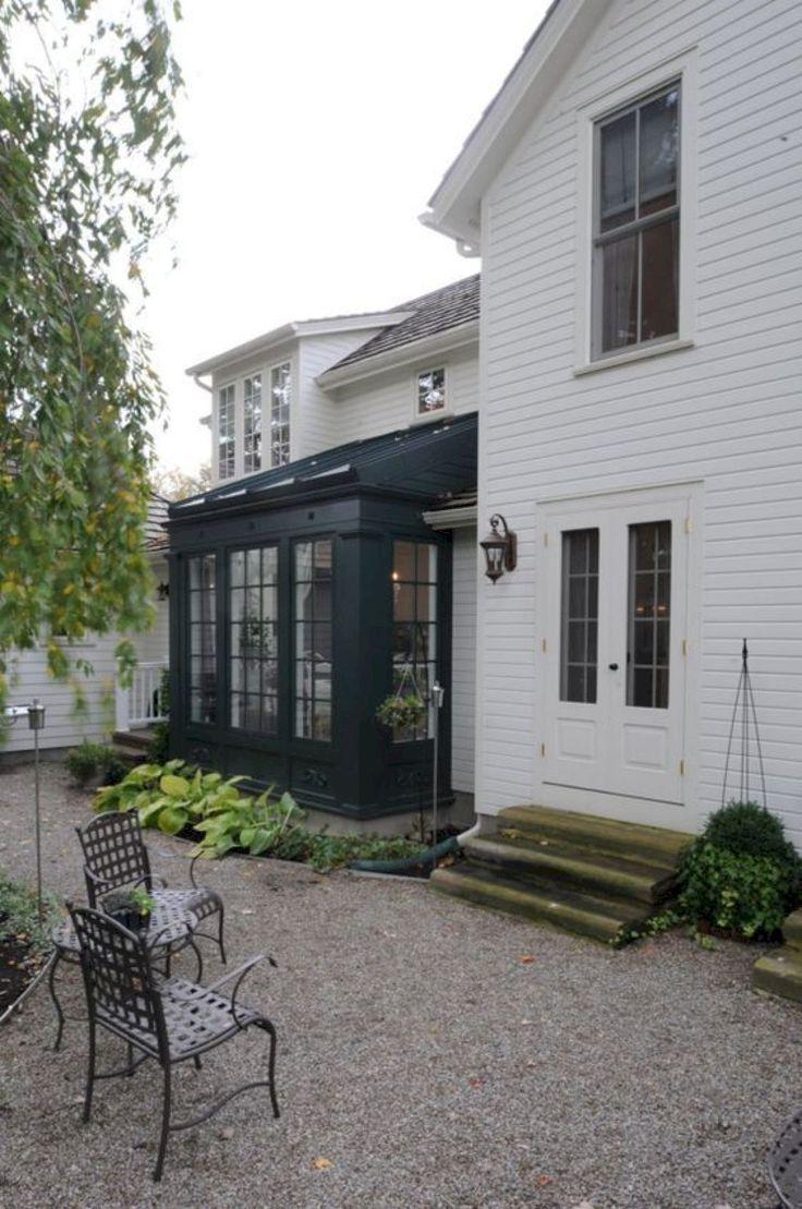 Beautiful Exterior House Colors Design: 64 Beautiful Modern Farmhouse Exterior Ideas