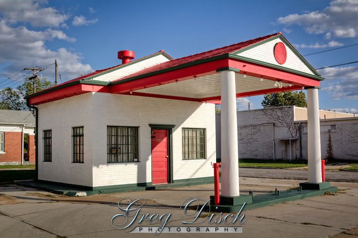 The Maimi Marathon Oil Company Service Station was built in 1929, and is listed on the National Register of HIstoric Places.