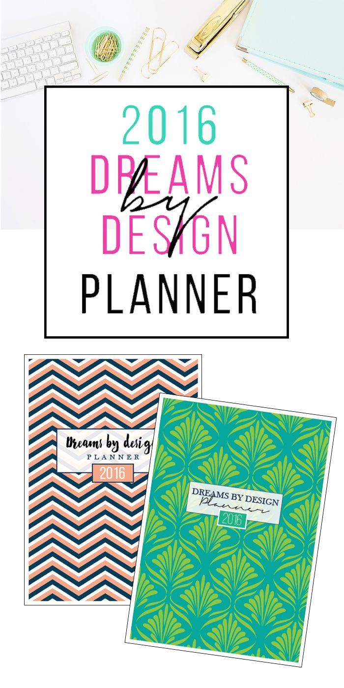Wow - it has everything! The Dreams by Design Planner has some really cool features that I've never seen before in another planner. I can't wait to get started!