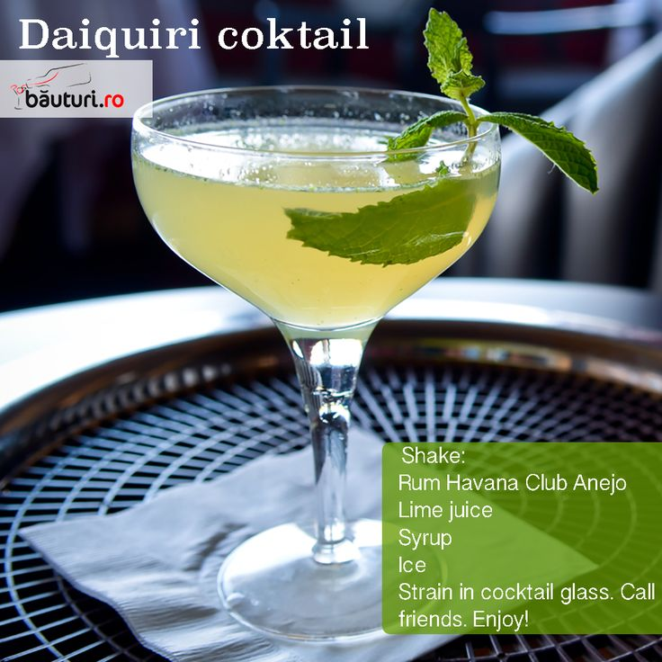 Summer training for doing best cocktails.   Daiquiri secret ingredient: