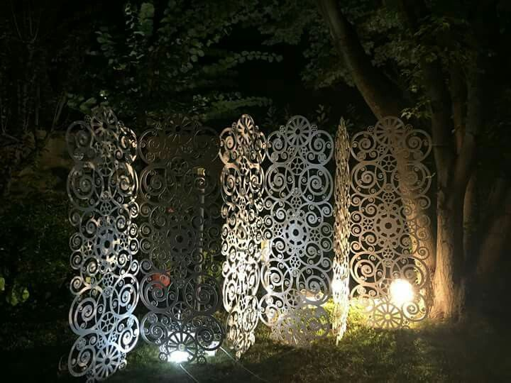 Garden design and lighting