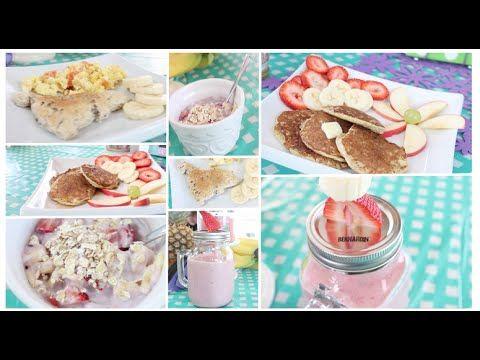 Healthy Breakfast Ideas~ Easy, Quick & Tasty! Get Fit