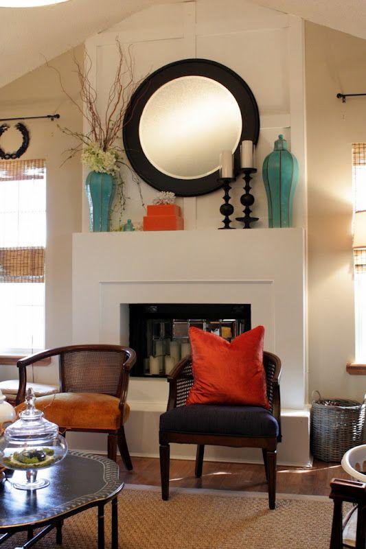 Mantel DecoratingMantles Decor, Neutral Room, Colors Combos, Decor Ideas, Mantel Decor, Color Combos, Mantles Style, Living Room, Colors Schemes