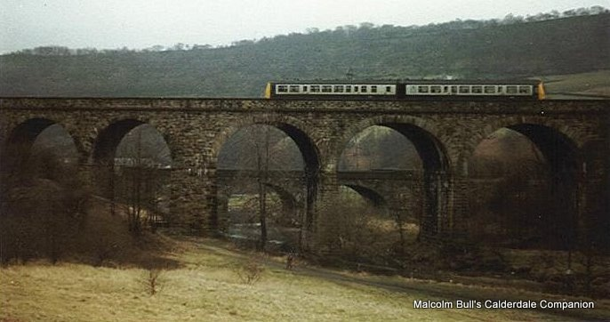 Copley viaduct west yorkshire