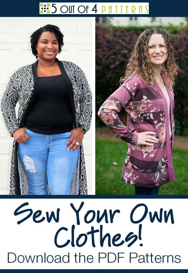 Sew Your Own Clothes With Our Downloadable PDF Patterns 60 Out Of 60 Mesmerizing 5 Out Of 4 Patterns
