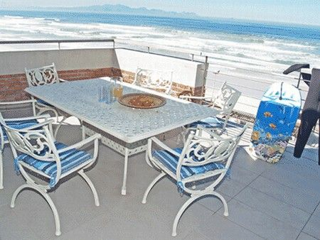 Self Catering Accommodation, Muizenberg, Cape Town  Balcony views with stunning sea view surroundings