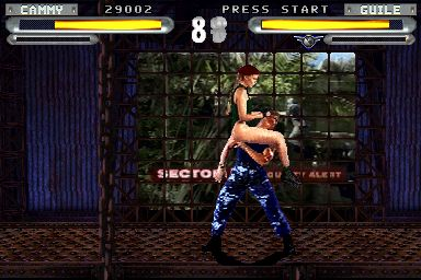 Street Fighter The Movie PC Game Screenshots