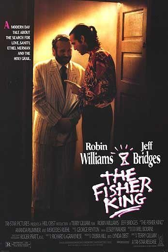 Director: Terry Gilliam | Reparto: Jeff Bridges, Robin Williams, Amanda Plummer, ... | Género: Drama | Sinopsis: En la imponente Nueva York, Jack (Jeff Bridges), un locutor de radio caído en desgracia, y Parry (Robin Williams), un enajenado profesor de historia, emprenden la búsqueda del Santo Grial. (FILMAFFINITY)